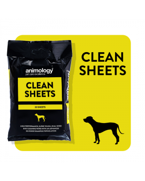 ANIMOLOGY Clean Sheets Dog Wipes (20)