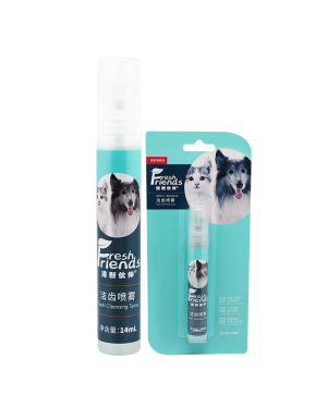 FRESH FRIENDS ADVANCED DENTAL SPRAY FOR DOGS AND CATS