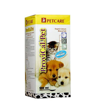 PETCARE Provical Pet Supplement For Dogs and Cats - 500 ml
