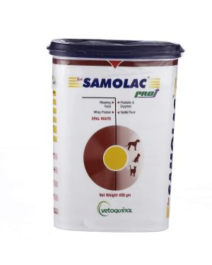 Vetoquinol Samolac Weaning Food Supplement for Puppies & Kittens
