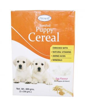 Petswill Puppy Egg Flavour Cerelac (400 g)