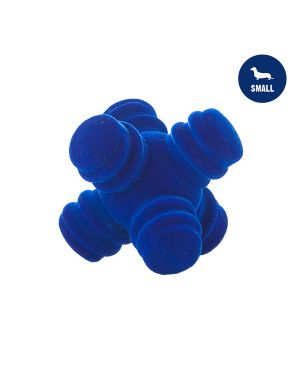 Sprong Ball Interactive Dog Toy - Bouncy Soft Super Squeaky Dog Ball for Large Breed, Medium and Small Dogs(BLUE)