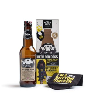 Woof & Brew Bottom Sniffer Beer For Dogs 330 ml