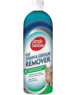 Simple Solution Cat Stain and Odor Remover 1 LITRE