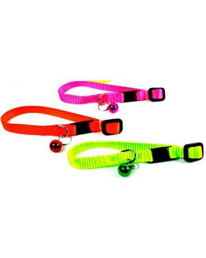 PETZ Extra Small Cat Plain Collar With Bell, Adjustable Collar For Kitten, Puppy, Color May Vary 1Piece