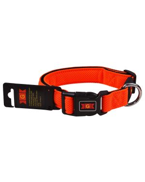 Glenand Pet Mesh Collar Medium Orange