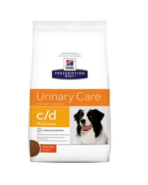 Hill's Prescription Diet Urinary Care CA C/D Canine Dog Food (1.5kg)