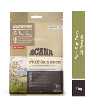 Acana Free-Run Duck Dry Dog Food (All Breeds & Ages) 2KG