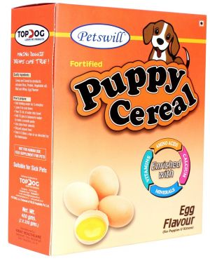 Petswill Cereal - Egg - Puppies and Kittens 400GM