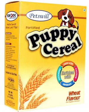 Petswill Cereal Wheat - for Puppies & Kittens- Pet Food 400GM