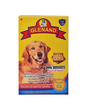 Glenand Dog Biscuits 700g (Liver & Meat )