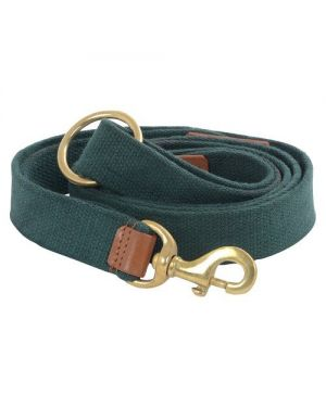 Vama Leathers Strong Leash For Dogs  Natural Cotton for Large and Big Size Dog, 5 Feet Long - (Army Green)