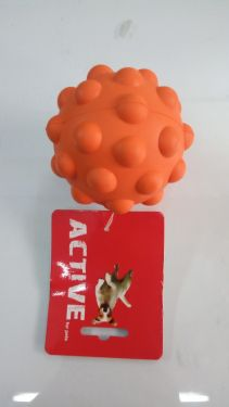 RUBBER SQUEAKY ATOMIC BALL LARGE
