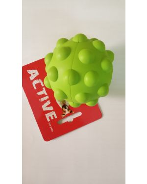 RUBBER SQUEAKY ATOMIC BALL MED