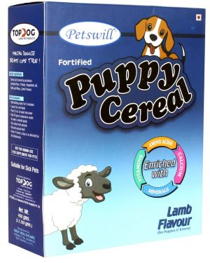 Petswill Cereal Lamb - for Puppies & Kittens Pet Food 400GM