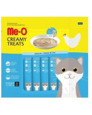 MEO CREAMY TREATS CHICKEN AND LIVER 300GM