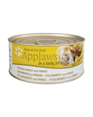 Applaws Adult Wet Cat Food - Chicken Breast with Mango (70g x 24 Cans)