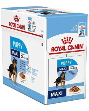 Royal Canin Maxi Puppy Wet Pouch OF (10*140g)