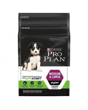 PRO PLAN PUPPY MEDIUM AND LARGE  2.5 KG