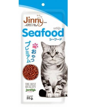 Jerhigh Jinny Cat, Made from Real SEAFOOD 35 g