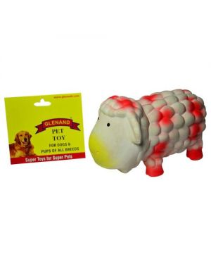 Glenand Latex Stuffed Grunter Sheep  Rubber Toy For Puppy & Dog