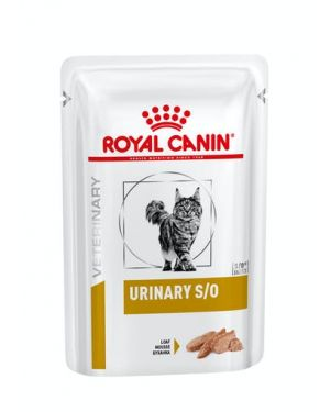 Royal Canin Urinary S/O Pouch WET Cat Food 12 x 100 gm Pouches