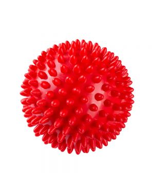 Rubber Spike Hard Ball Toys for Medium to Large Dogs & Cats Color May Vary 1PC