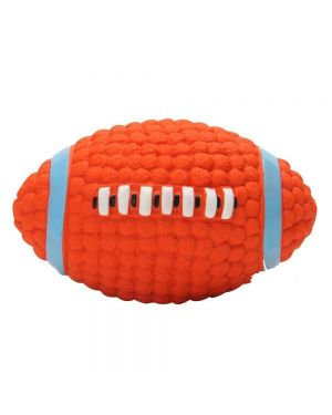 Glenand  Non-Toxic Soft  Squeaky Bouncing  Toy Ball for Puppy and Dogs (Medium)