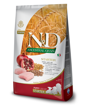 N&D Low Grain Chicken and Pomegranate Starter Puppy Food (800 gm)