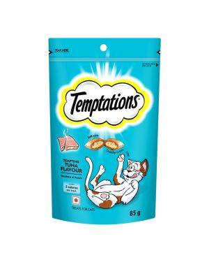 Temptations Cat Treats Tuna Flavour (85g each)(Pack of 12)