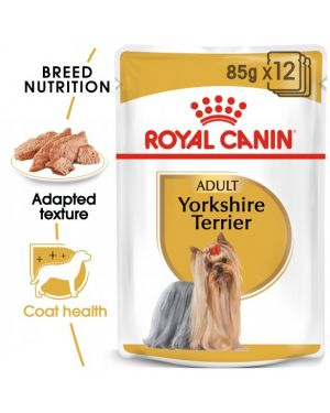 Royal Canin Yorkshire Terrier Adult Wet Food (85g x12 pouches)