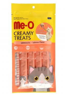 MeO Creamy Treats Salmon Flavour,  For Cats & Kittens 60g