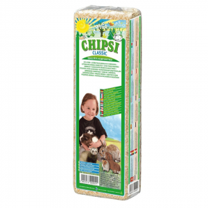 Chipsi Classic Wood Shavings Bedding/Litter for Small Animals (1 kg)