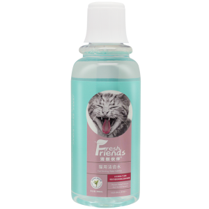Fresh Friends Fresh Breath Drinking Water Additive Pet Mouth Freshner For Cats 330ml