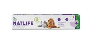 Natlife, Natural Supplement to Restore Energy, Real Chicken Liver Paste - 30 ml For Dogs & Cats