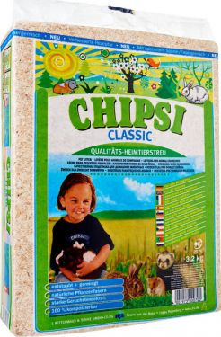 Chipsi Classic Wood Shavings Bedding/Litter for Small Pet Animals (3.2 kg)