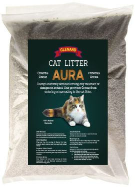 GLENAND NATURAL CLUMPING CAT LITTER (INNOCENCE SCENTED) 5KG BAG