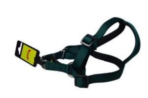 Glenand Harness 1 Inch Dark Green Colour (ADJUSTABLE HARNESS WITH PADDED)