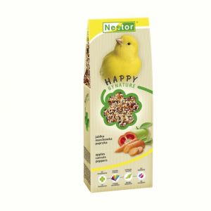 PREMIUM FOOD FOR BIRD CANARIES WITH APPLES, CARROTS AND PEPPERS 700GM