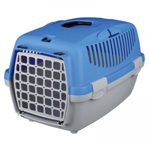 Capri 1 Pet Carrier For Puppies/Dogs/Cats  Pastel Blue (19x13x12-inch)