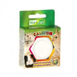CALCIUM & MINERAL CUBE FOR RODENTS AND RABBITS
