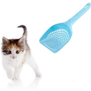Plastic Cat Litter Scoop For Cats (Color May Vary)