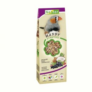PREMIUM FOOD FOR EXOTIC BIRDS WITH CURRANTS, COCONUT AND GRASS SEEDS 700GM