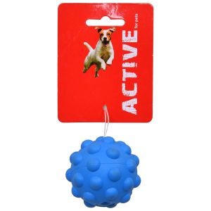 ACTIVE RUBBER SQUEAKY ATOMIC BALL SMALL