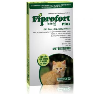 Fiprofort Plus Spot-on For Cats and Kittens (8 weeks or older)1Pipette 0.5 ml