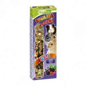 CLASSIC STICK FOR RODENTS AND RABBITS WITH FOREST FRUITS 115gm