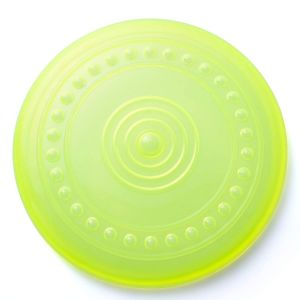 Dog Flying Disc Frisbees Toy 9 inches (Color may Vary)