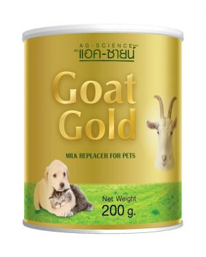 AG-SCIENCE Goat Gold Milk Replacer 200 GM (For Puppy & Kittens)