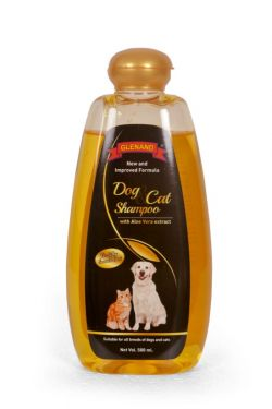GLENAND ADULT  DOG AND CAT SHAMPOO 500ml (Rs 100/- OFF ON MRP )