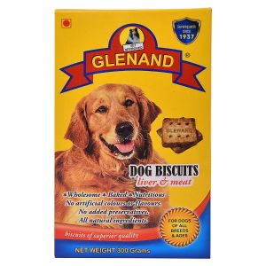 GLENAND DOG LIVER AND MEAT BISCUITS 300G